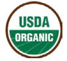 USDA seal for 100% organic products